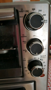 Toaster and convection oven and pizza oven