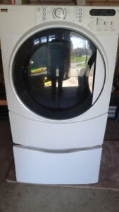Kenmore Elite Drier with pedestal