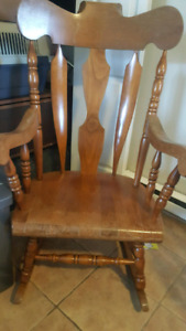 Rocking chair best offer takes it today