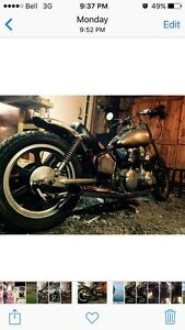 Chopper chopped and 99% ready to ride