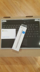 New Microsoft Surface Pro Type Cover and Pen