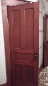 3 douglas fir doors