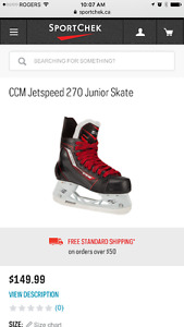 CCM Jetspeed 270 - Youth 1.5