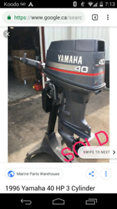 Wanted: 40hp Outboard