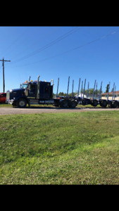 Kenworth T800 2016 Truck and 2006 Timmins Trailer