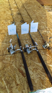 Spinning rod and reel combos, Baitcast rod and reel combo