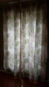 LEAFY DRAPES   AND MORE!!