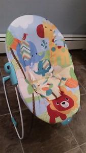 Bouncy vibrating chair