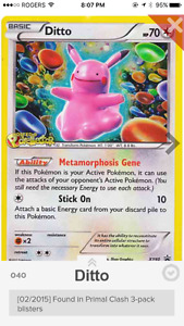 Looking for this Pokemon card