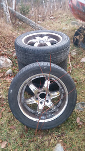 20'' chrome American racing rims $350 obo