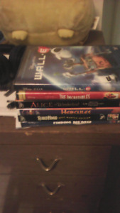 Six Disney dvds