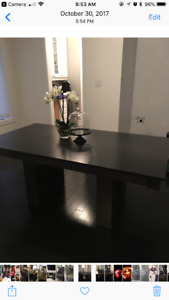 Dining Table - solid wood made in Canada