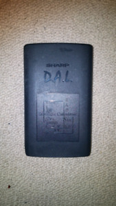 Sharp D.A.L. Scientific Calculator