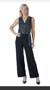 ELEGANT TIANA B. JUMP SUIT $60.00 FORMAL AND HOLIDAY WEAR.