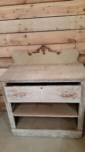Antique Buffet / Side Table