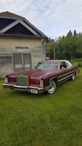1978 Lincoln Town Coupe'