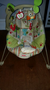 Calming baby vibration chair