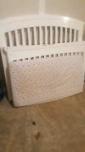 Baby crib solid wood