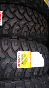 NEW LT275/65/R18 COMFORSER MUD TERRAIN TIRES