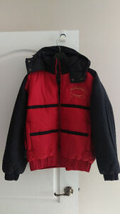 NEW Trimark Men's Red/Black Waterproof Bomber Jacket MEDIUM $40