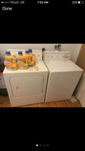 Kenmore washer and dryer matching for sale 120