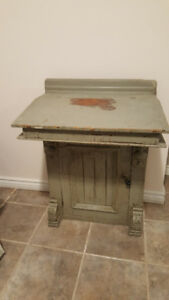 Antique secretary/ school desk circa early 1900 -  Rare Beauty -