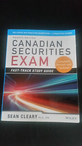 Canadian Securities Course - Study Guide & Textbooks