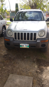 Jeep Liberty, safetied ,low milage