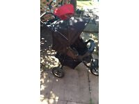 Graco expedition jogging pram