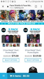 Multi use Face Sheilds S.A. Co