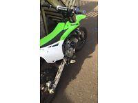 Kx 85 Kawasaki 2015 model (not cr, yz, rm, ktm, 65, 125, 250, 450) swap for full sus bike