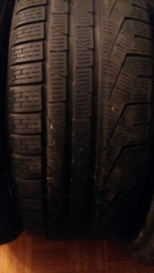 1 WINTER TIRE 245/50/r18 RUNFLAT