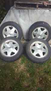 15 inch Rims and winter tires
