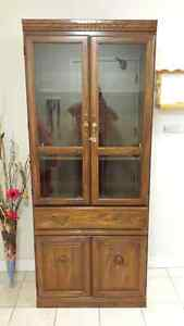 China cabinet for sale excellent condition $150 obo London Ontario image 1