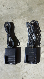 2 SONY Battery Chargers