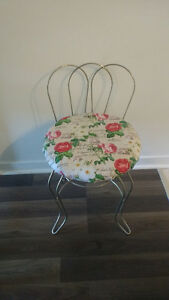 Vintage chair with new fabric