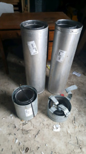 Fireplace chimney pipes