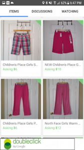 POST #5: Tons of Girls Summer and Fall Clothing ~ Size 10-12 ~