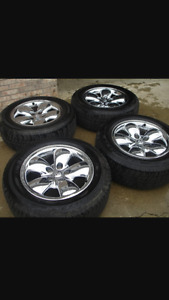Dodge Ram tires and rims