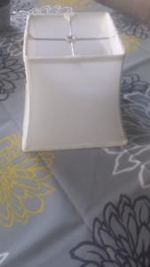 White Lamp Shade Hardcover