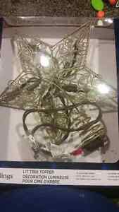 Brand NEW Christmas Tree topper  Cambridge Kitchener Area image 1
