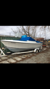 22' aquasport Boat for sale
