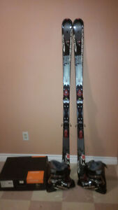 New skis and boots for sale