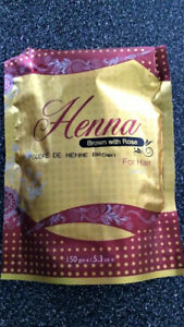 High quality Natural HEMANI HENNA for colouring hair.