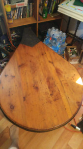 Huge antique bellows table for sale