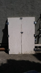 Wooden Shed Doors