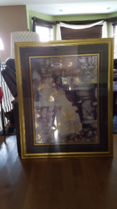 Beautiful Large Framed Picture