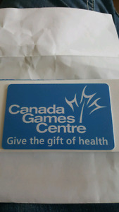 $50 Gift Card Canada Games Centre