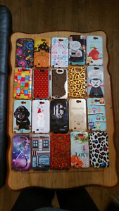 Samsung Note 2 cases - 52 cases- like new