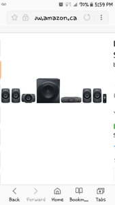 Logitech home theater system